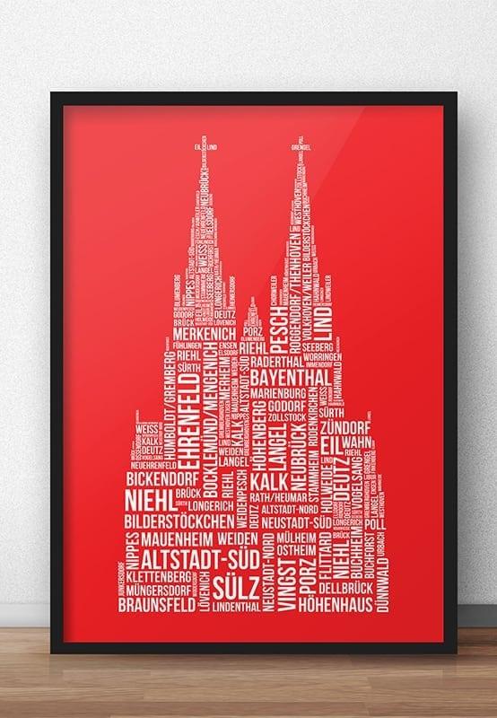 86 Kölner Veedel - En Stadt - E Jeföhl rut un wiess