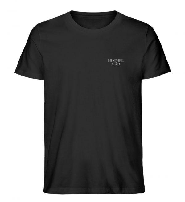 Himmel & Äd Stick T-Shirt neu Herren - Herren Premium Organic Shirt-16