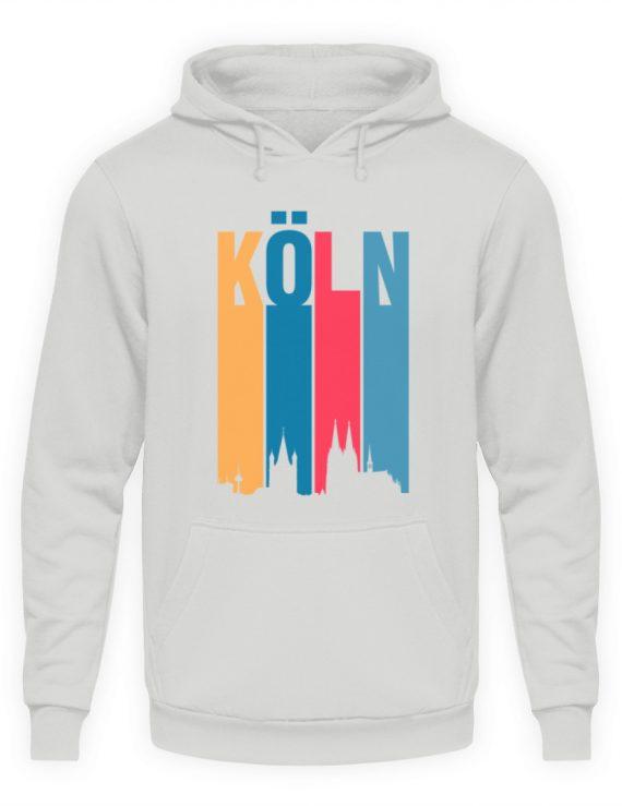 Köln ist bunt - Unisex Kapuzenpullover Hoodie-23