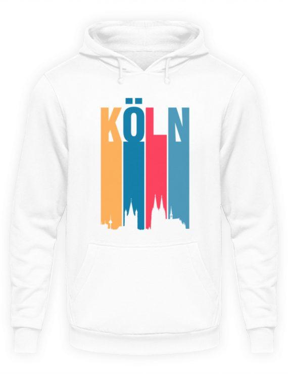 Köln ist bunt - Unisex Kapuzenpullover Hoodie-1478