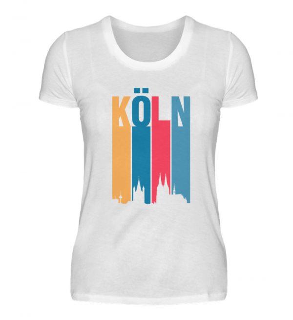Köln ist bunt Frauen neu - Damenshirt-3