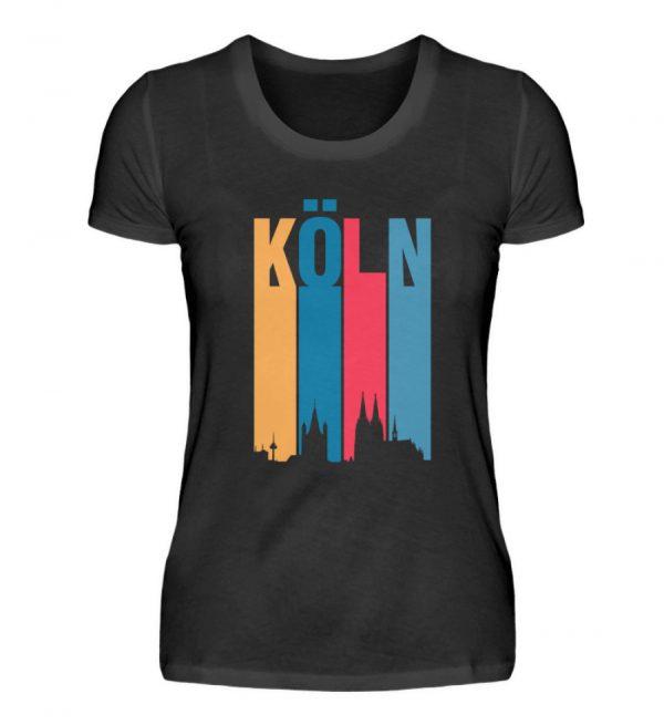 Köln ist bunt Frauen neu - Damenshirt-16