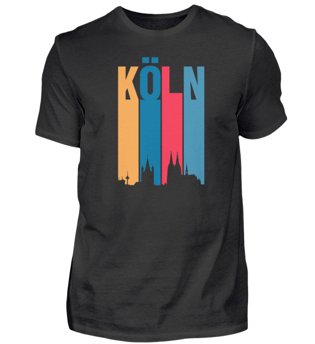 Köln ist bunt - Herren Shirt-16