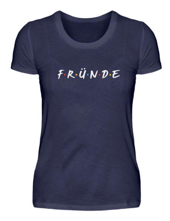 Fründe - bunt - Damenshirt-198