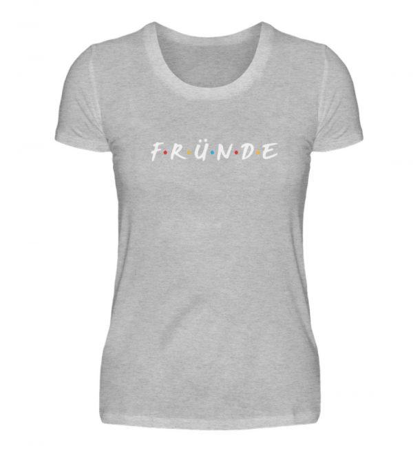 Fründe - bunt - Damenshirt-17