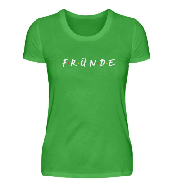 Fründe - bunt - Damenshirt-2468
