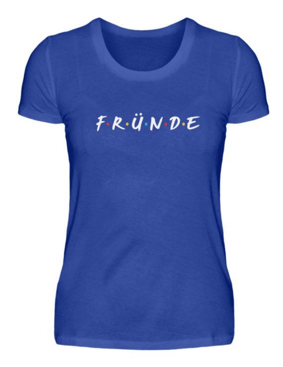 Fründe - bunt - Damenshirt-2496