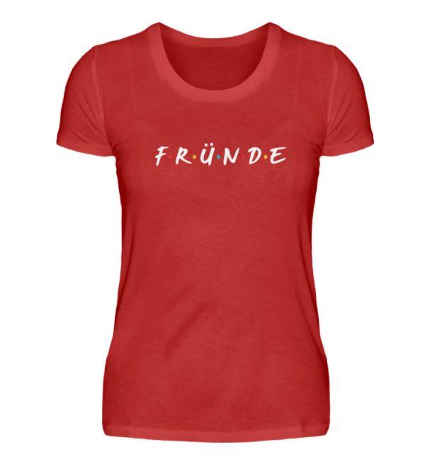Fründe - bunt - Damenshirt-4