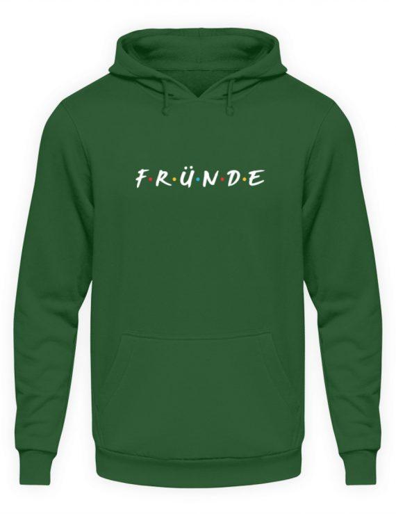 Fründe - bunt - Unisex Kapuzenpullover Hoodie-833