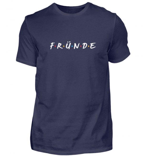 Fründe - bunt - Herren Shirt-198