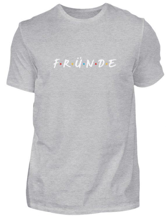 Fründe - bunt - Herren Shirt-17