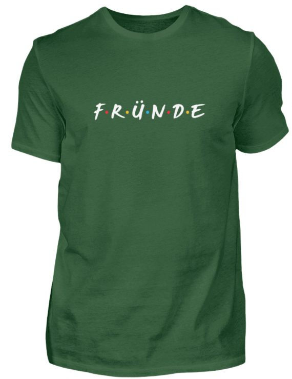Fründe - bunt - Herren Shirt-833