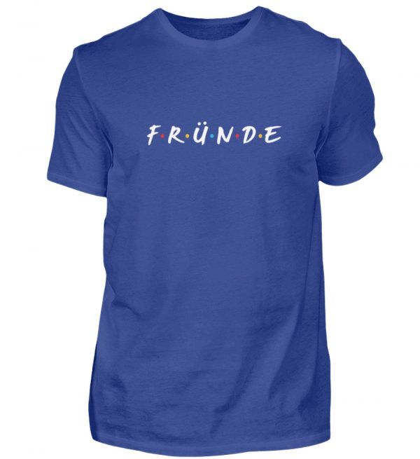 Fründe - bunt - Herren Shirt-668