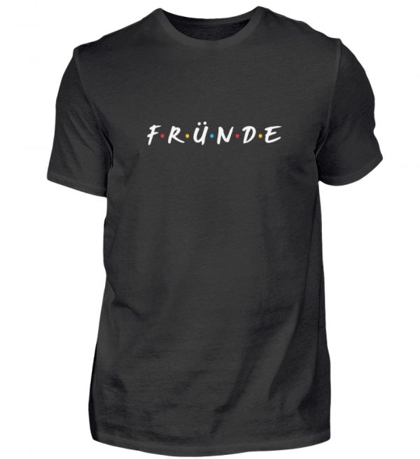 Fründe - bunt - Herren Shirt-16