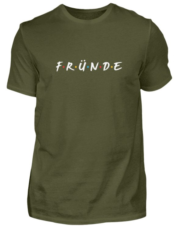 Fründe - bunt - Herren Shirt-1109