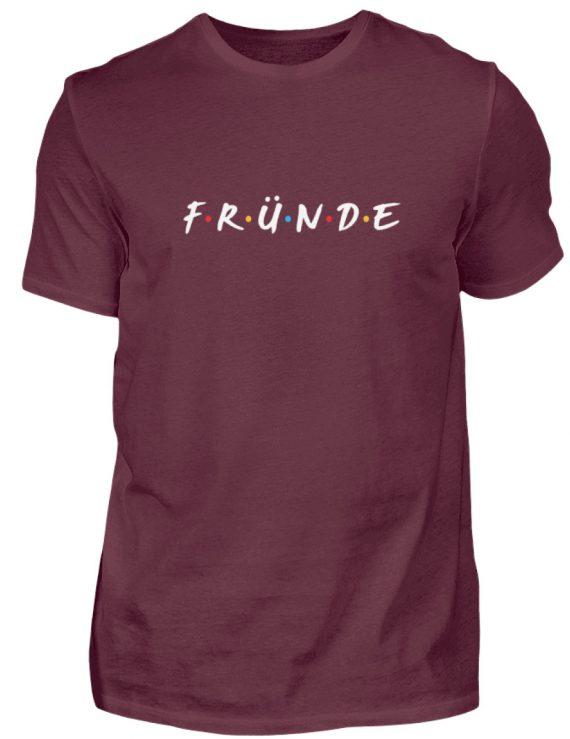 Fründe - bunt - Herren Shirt-839
