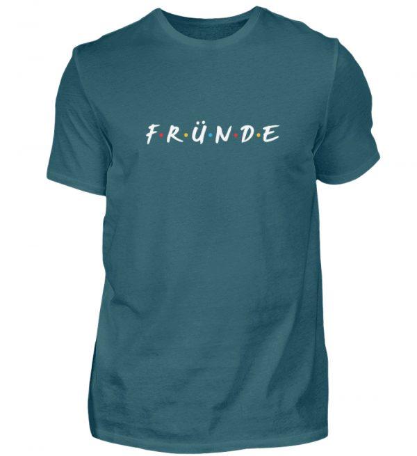 Fründe - bunt - Herren Shirt-1096